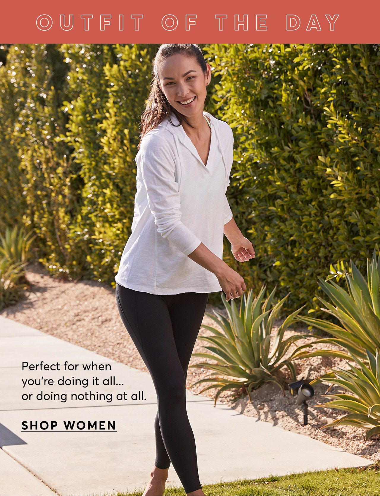 OOTD: Perfect for when you're doing it all... or doing nothing at all. Shop Women's