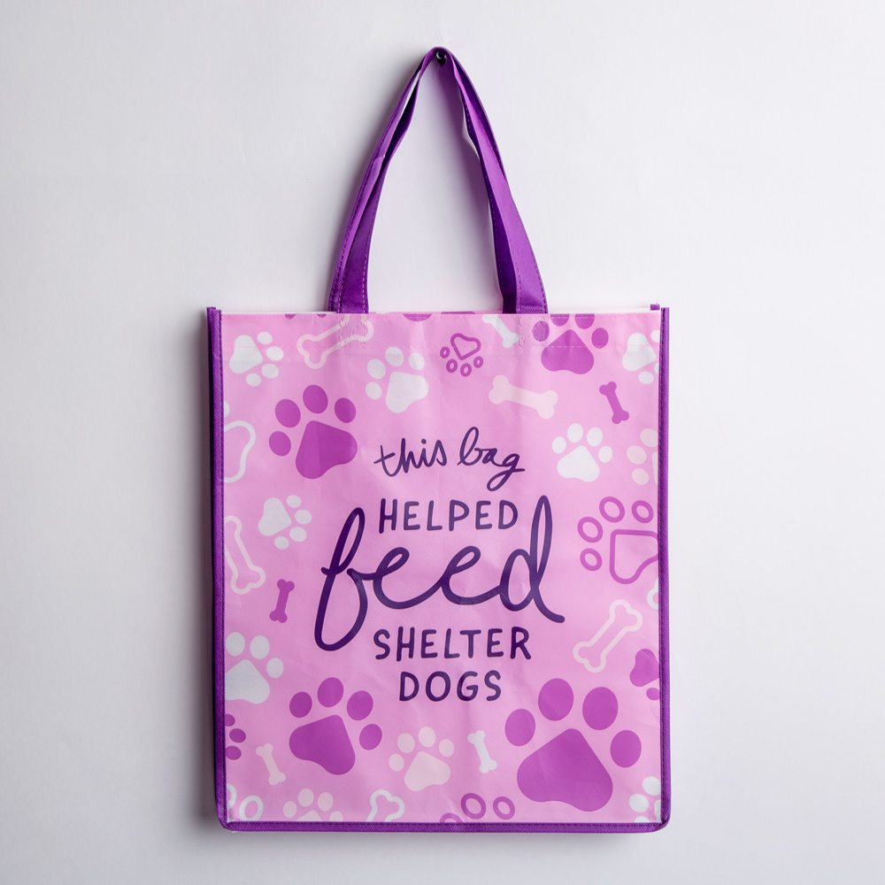 Image of This Bag Helped Feed Shelter Dogs Grocery Bag 🐾 Get 4 for $15.00