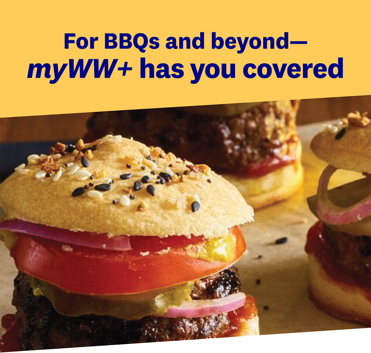 For BBQs and beyond—myWW+ has you covered