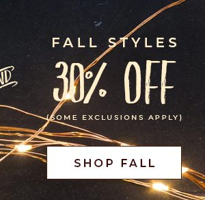 30% OFF on All Fall