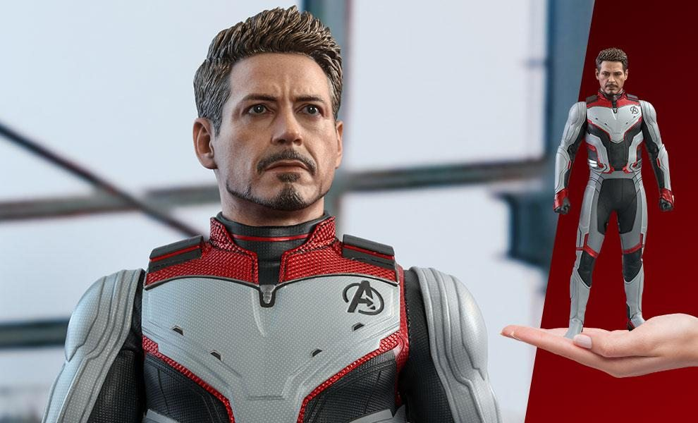 Tony Stark (Team Suit) Sixth Scale Figure by Hot Toys
