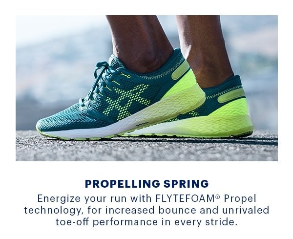 Consecutivo brina Logico  Feel Fast: FLYTEFOAM® Technology - ASICS Email Archive