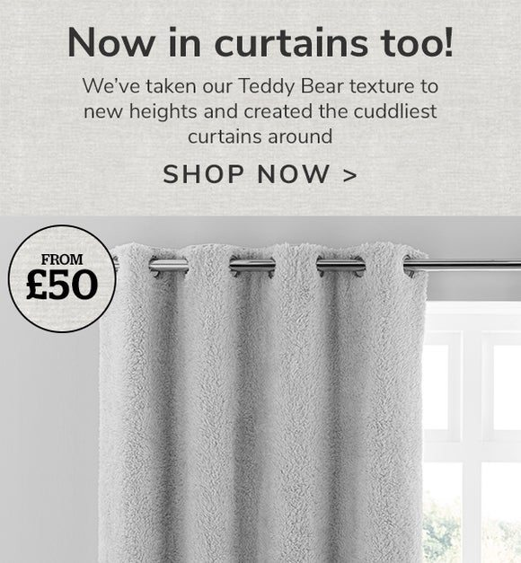 Now in curtains too!