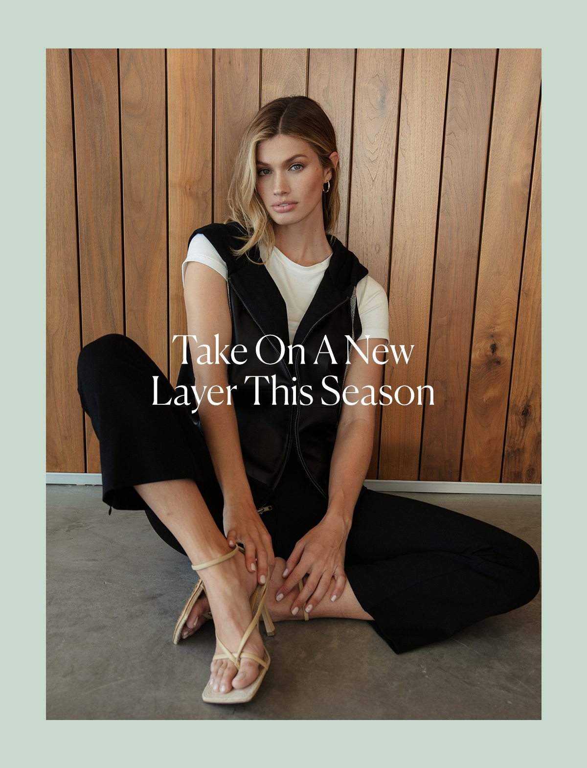 Take on a New Layer this Season