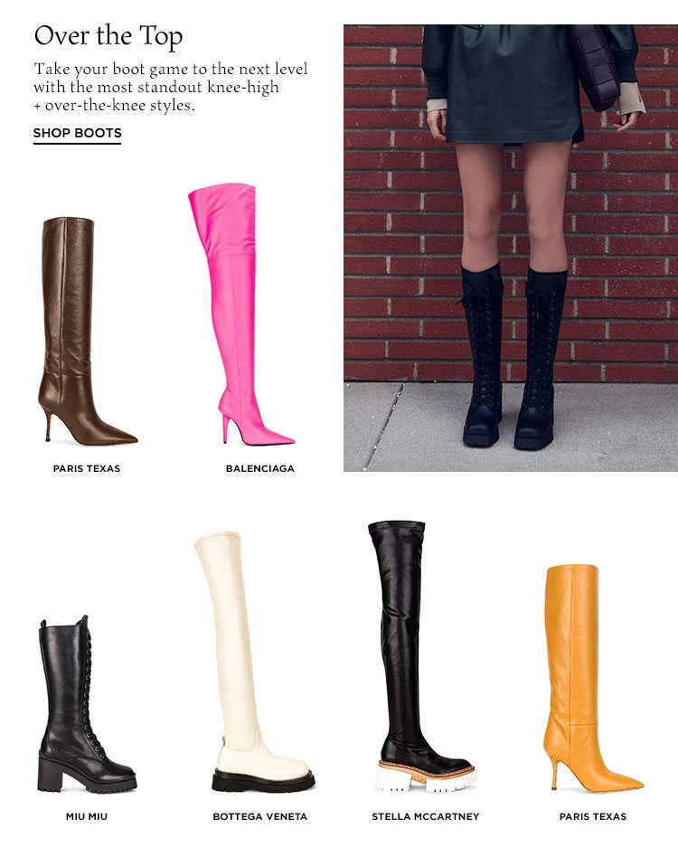 Over the Top - Shop boots