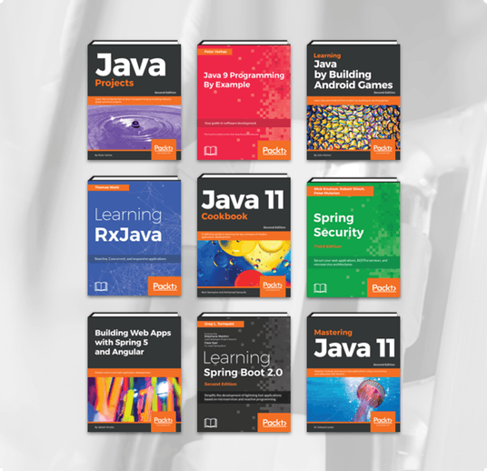 It's the Humble Book Bundle: Java by Packt! - Humble Bundle