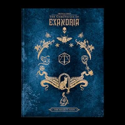 Critical Role:Mighty Nein DLX HC Book-DH