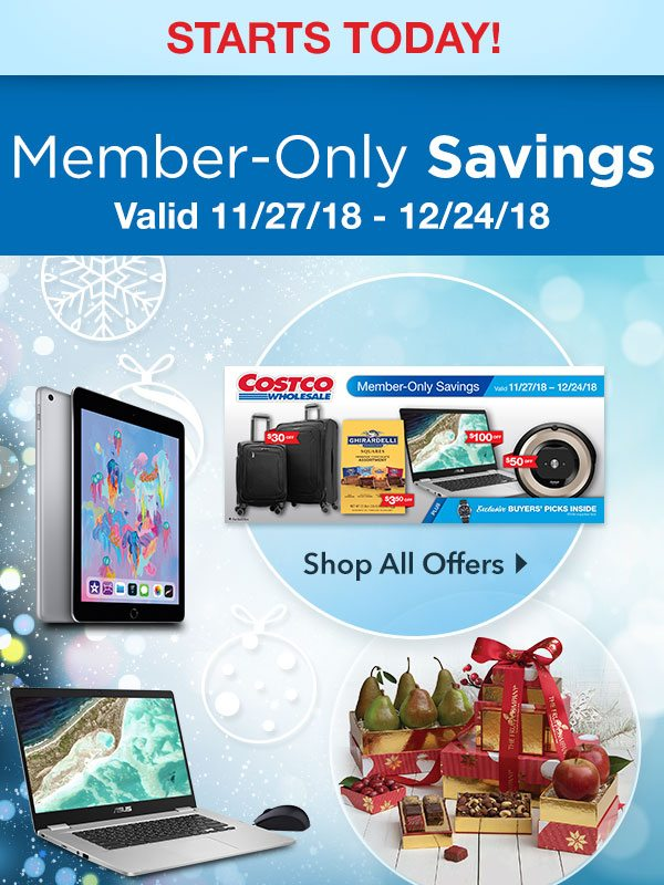 NEW Member-Only Savings Start Today! Shop Online or in Your Local