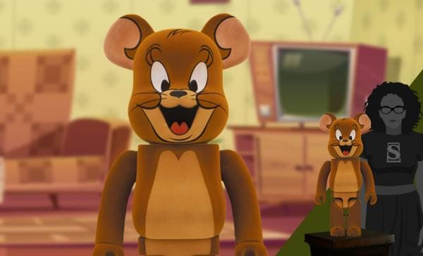 Be@rbrick Jerry Flocky 1000% Collectible Figure by Medicom Toy
