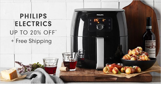 PHILIPS ELECTRICS - UP TO 20% OFF* + Free Shipping