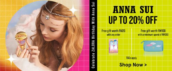 Anna Sui Up to 20% Off!