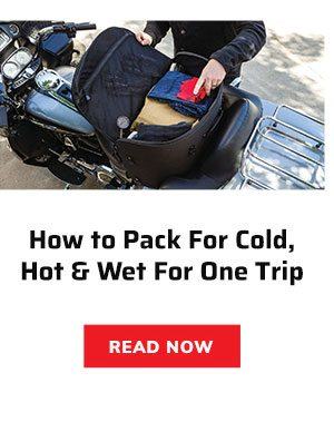 How to pack for cold, hot & wet for one trip