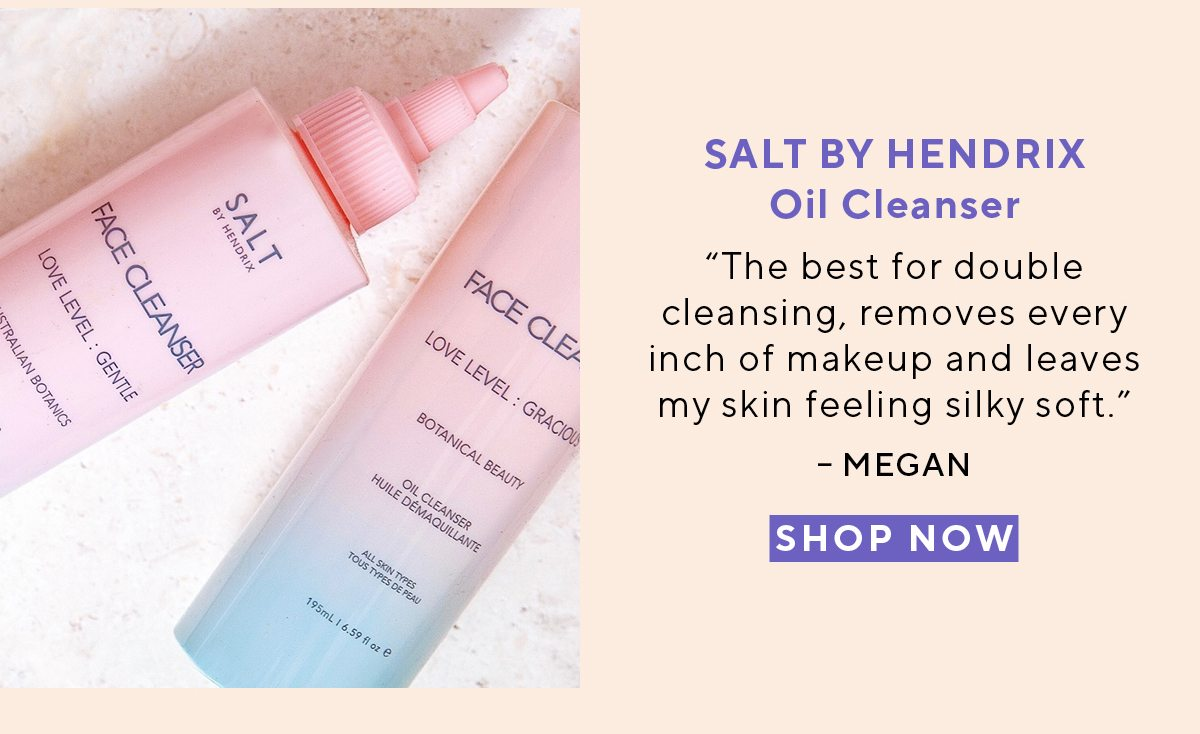 SALT BY HENDRIX Oil Cleanser