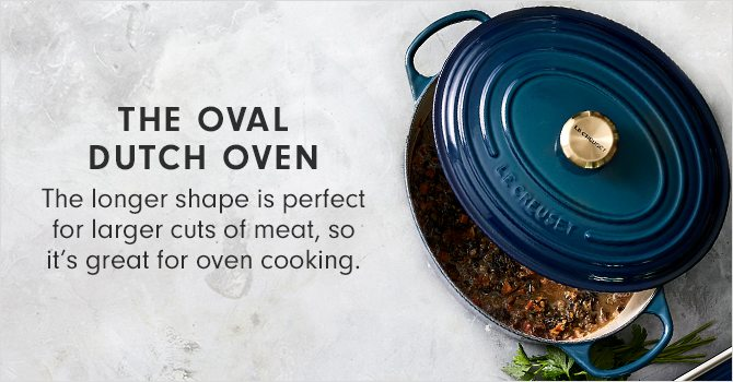 THE OVAL DUTCH OVEN