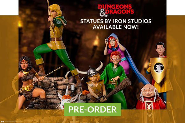 Dungeons and Dragons Statues