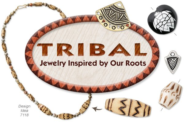 2c3d46d9fc7 Tribal-Inspired BEADS, Charms & More Jewelry Supplies - Fire ...