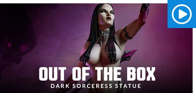 Out of the Box: Dark Sorceress Statue