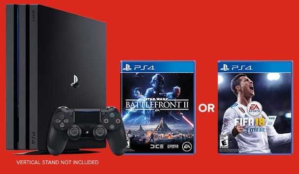 Save $50 on Select PS4 Pro & Xbox One S + GET A FREE GAME