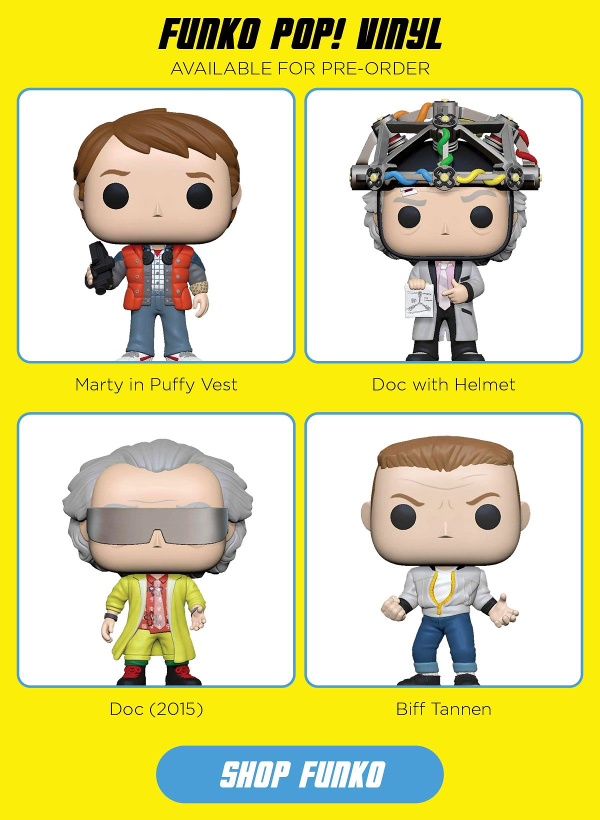 Shop all Back to The Future Pop! Vinyl