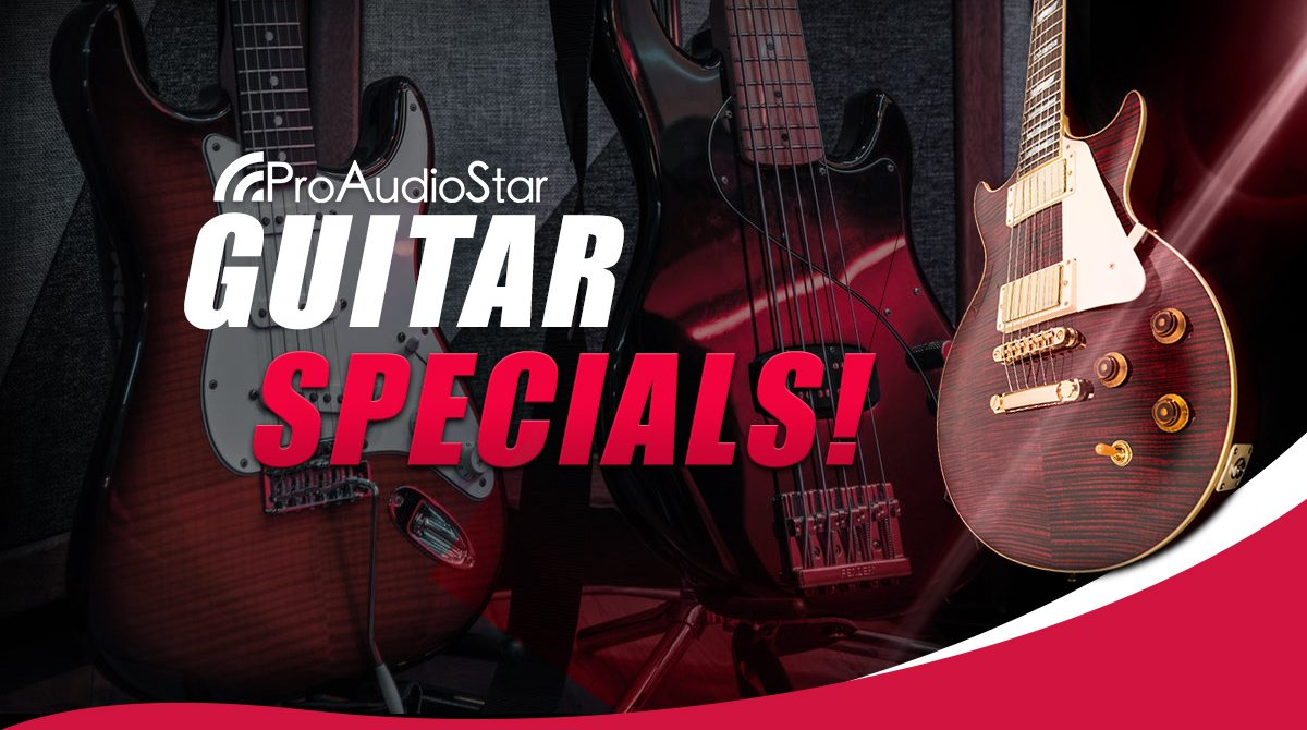 March Guitar Specials - Up To 50% Off