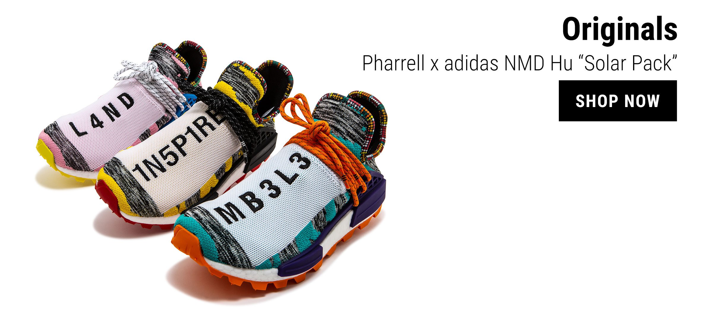 d71413fda4dbe Change the pace. Shop our latest adidas styles feat. NMD Hu Solar ...