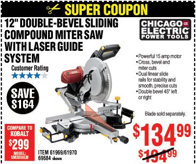Save up to 85% with Super Coupons - Harbor Freight Tools