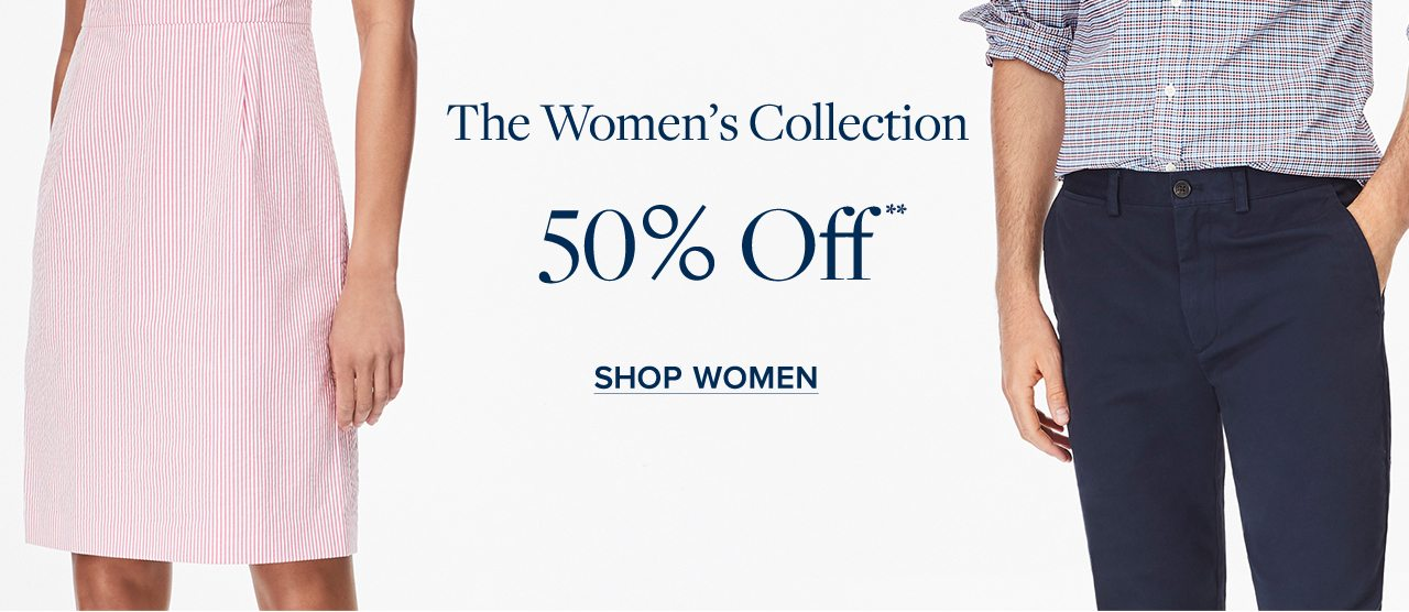 The Women's Collection 50% Off Shop Women