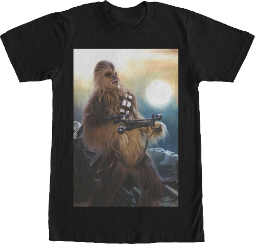 Chewbacca Star Wars T-Shirt