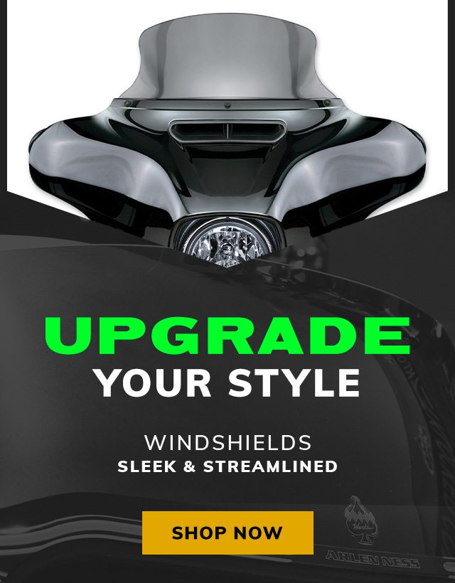 Upgrade your style with a new windshield