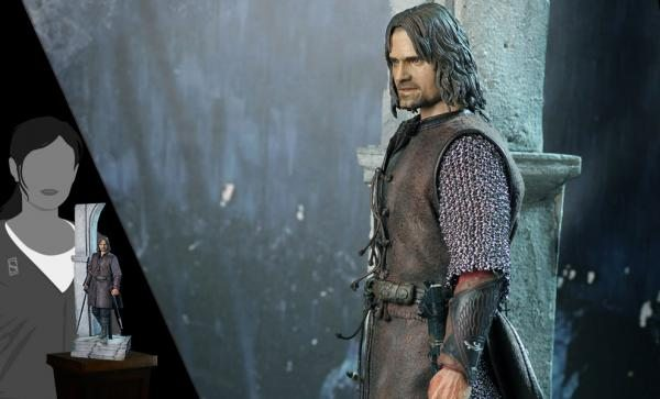 Aragorn at Helm's Deep Exclusive Edition Sixth Scale Figure by Asmus