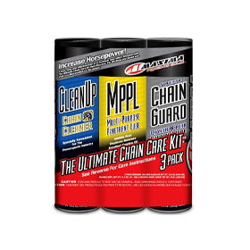 maxima, synthetic chain guard ultimate chain care kit combo 3-pack
