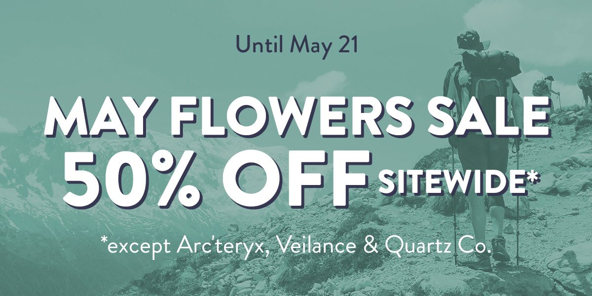May Flower Sale