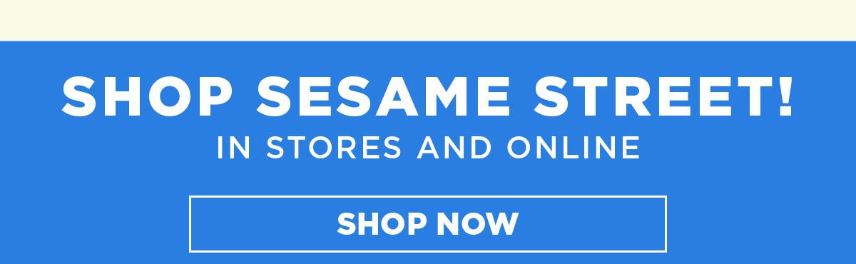 Shop All Sesame Street Online