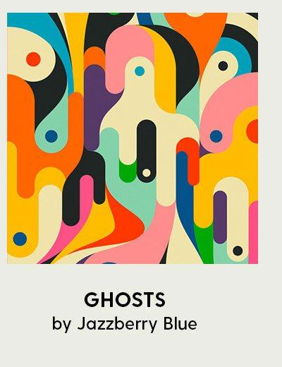 GHOSTS Art Print by Jazzberry Blue