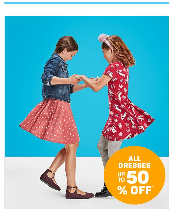 Up to 50% Off All Dresses