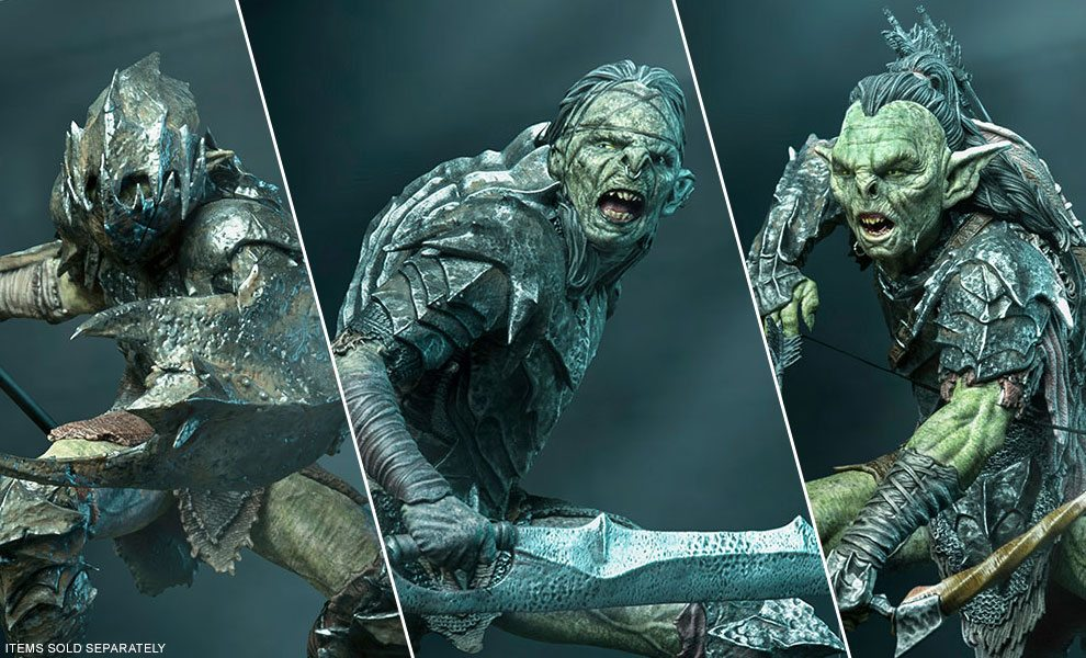 Lord of the Rings Statues by Iron Studios