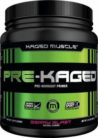 Kaged Muscle PRE-KAGED Tub
