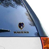 "WinCraft Baltimore Ravens 5"" x 6"" Multi-Use Decal-"