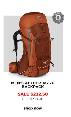 Men's Aether AG 70 Backpack - Click to Shop Now