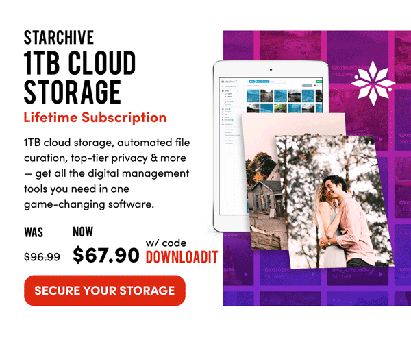 Starchive 1TB Cloud Storage | Secure Your Storage