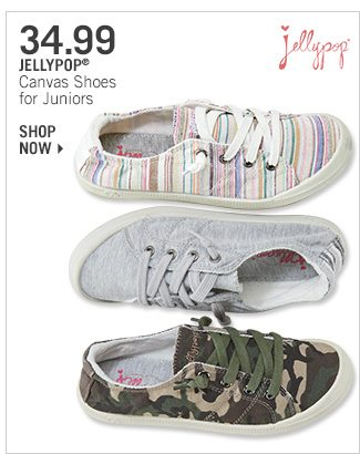 Shop 34.99 Jellypop Canvas Shoes for Juniors