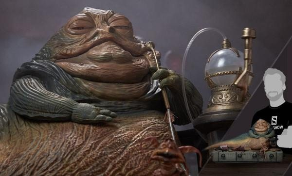 BEST SELLER Jabba the Hutt and Throne Deluxe Sixth Scale Figure