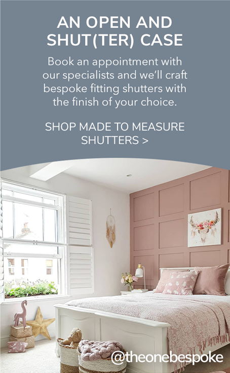Shop made to measure shutters