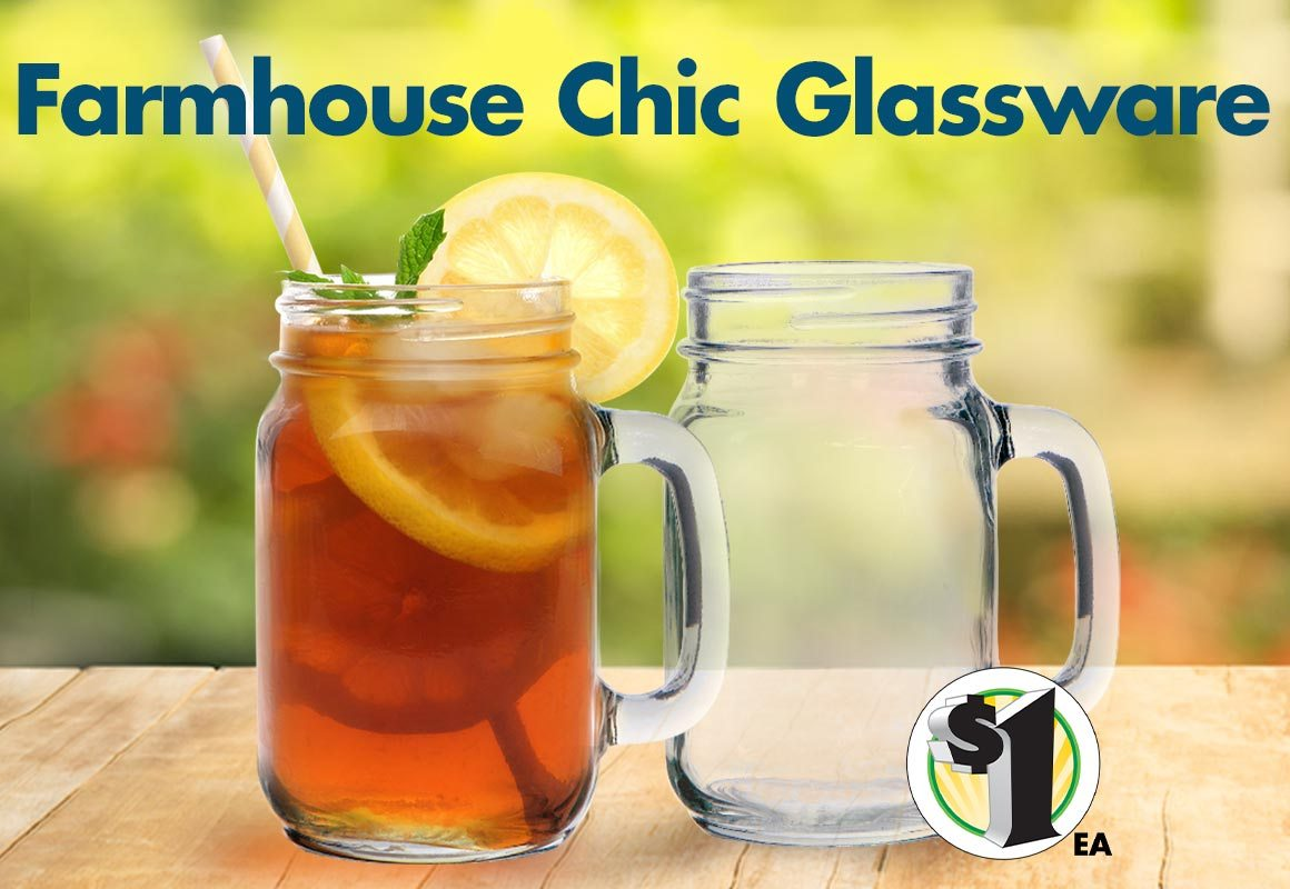 Shop Our Selection of $1 Glassware