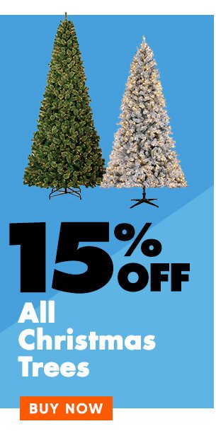 15% off Christmas Trees