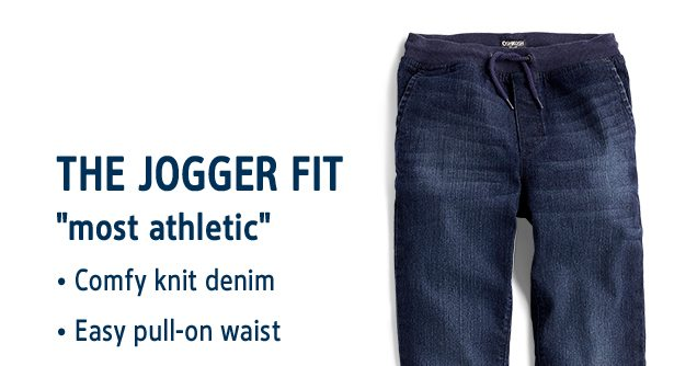 THE JOGGER FIT | most athletic | Comfy knit denim | Easy pull-on waist