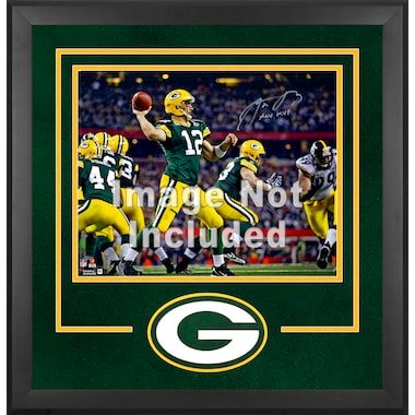 """Green Bay Packers Fanatics Authentic 16"""" x 20"""" Deluxe Horizontal Photograph Frame with Team Logo"""
