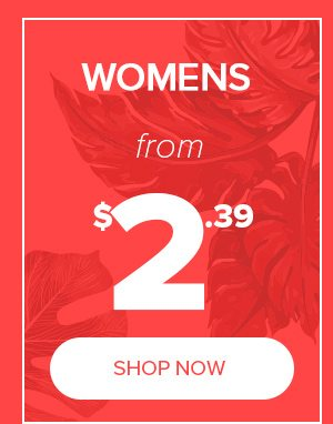Womens from $2.39
