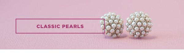 Classic pearl gifts
