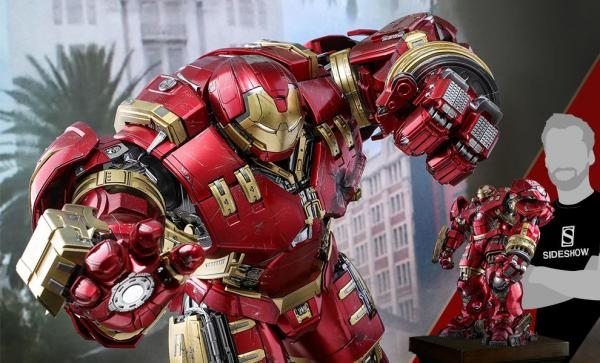 BESTSELLER Hulkbuster Deluxe Version Sixth Scale Figure by Hot Toys